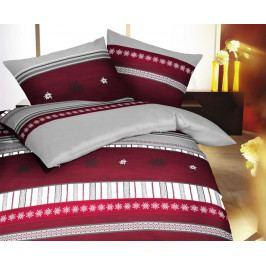 Flanelové obliečky Edelweis 140x200 jednolôžko - štandard Flanel