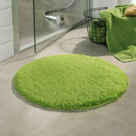 Kúpeľňová predložka Malmo zelená priemer 71 cm zelená