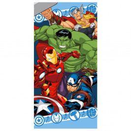 Detská osuška Avengers farebná 70x140 cm farebná