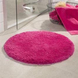 Kúpeľňová predložka Malmo ružová priemer 71 cm ružová