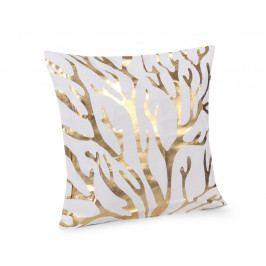 Obliečka na vankúšik Gold Vetvy 45x45 cm Polyester
