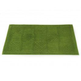 Kúpeľňová predložka Natalie zelená 50x80 cm bavlna