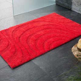 Kúpeľňová predložka Jaipur červená 60x100 cm červená