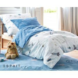 Obliečky Esprit Spaceships 140x200 jednolôžko - štandard bavlna