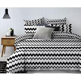 Obliečky Waves 140x200 jednolôžko - štandard Microflanel