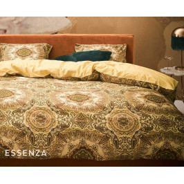 Obliečky Essenza Gold 140x200 jednolôžko - štandard Bavlnený satén