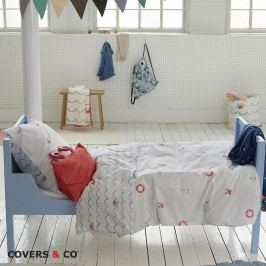 Obliečky Covers & Co Kraby 140x200 jednolôžko - štandard bavlna