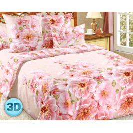 Obliečky Magnólie 140x200 jednolôžko - štandard bavlna