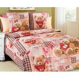 Obliečky Medvedíci 140x200 jednolôžko - štandard bavlna
