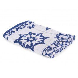 Kuchynský uterák Mozaika modrý 50x50 cm modrá