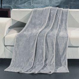 Deka Henry sivá 150x200 cm šedá