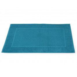 Kúpeľňová predložka Mozaika petrolejová 50x80 cm bavlna