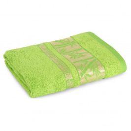 Bambusový uterák Bonia svetlozelený 50x90 cm Uterák