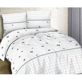 Obliečky Cottonlove Butterfly 140x200 jednolôžko - štandard bavlna