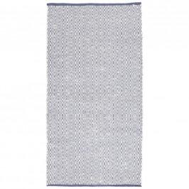 Ručné Tkaný koberec Carmen 1, 60/120cm, Tm.modrá