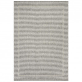 Hladko Tkaný koberec kanada 2, 120/170cm, sivá