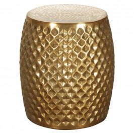 Prístavný stolík sita Zlatý