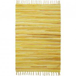 Zošívaný Koberec Tonal 1, 60/120cm, Žltá