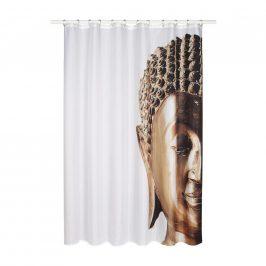 Záves Do sprchovacieho kúta Buddha, 180/200 Cm