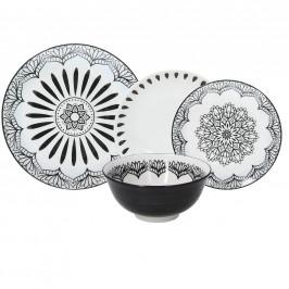 kombinovaný servis Mandala Chic, 24-Dielny