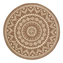 Hnedý koberec Hanse Home Celebration, ⌀ 200 cm
