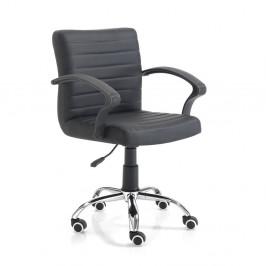 Čierna kancelárska stolička Tomasucci Pany
