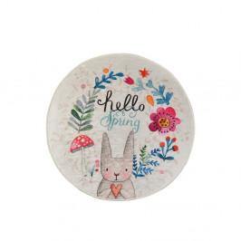 Detský protišmykový koberec Chilam Hello Spring, ø 140 cm