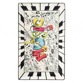 Detský protišmykový koberec Chilam Music, 140 x 190 cm