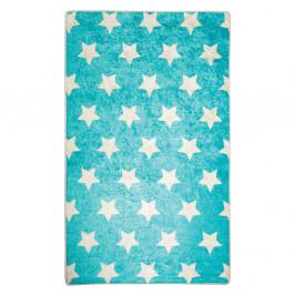 Modrý detský protišmykový koberec Chilam Universe, 140 x 190