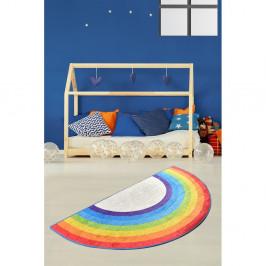 Detský protišmykový koberec Chilam Rainbow, 85 x 160 cm