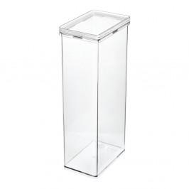 Transparentný úložný box iDesign The Home Edit, 15,2 x 10,2 x 31,1 cm