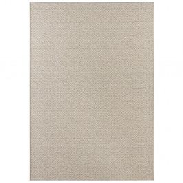 Béžovo-krémový koberec vhodný aj do exteriéru Elle Decor Bloom Croi×, 80 x 150 cm