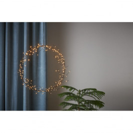 Závesná svetelná LED dekorácia Best Season Nike, ⌀ 35 cm