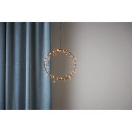 Závesná svetelná LED dekorácia Best Season Nike, ⌀ 22 cm