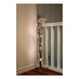 Hnedá svietiaca LED dekorácia Best Season Willow, 60 žiaroviek
