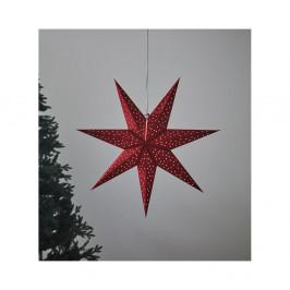 Červená svetelná dekorácia Markslöjd Clara, výška 75 cm