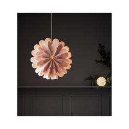 Ružová svetelná dekorácia Markslöjd Marigold, výška 45 cm