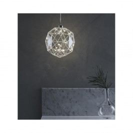 LED svietiaca dekorácia Markslöjd Aspliden, ø 18cm