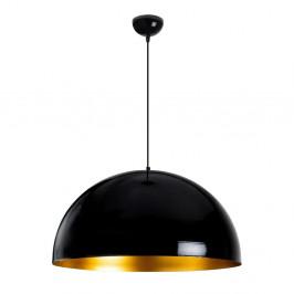 Čierne stropné svietidlo Opviq lights Berceste, ø 60 cm