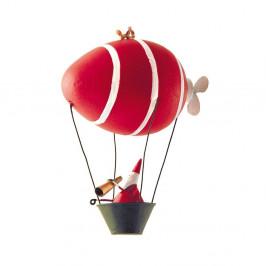 Vianočné dekorácie G-Bork Santa In Airship