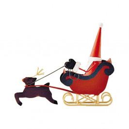 Vianočná dekorácia G-Bork Santa on Sledge