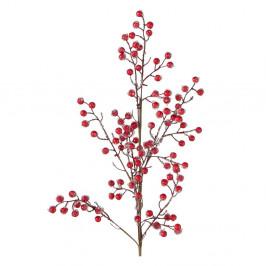 Červená umelá kvetina Boltze Beliana