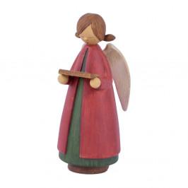 Vianočná dekorácia v tvare anjela Ego Dekor, výška 16 cm