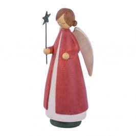Vianočná dekorácia v tvare anjela Ego Dekor, výška 21 cm