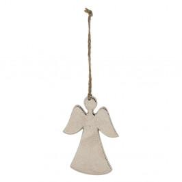 Vianočná ozdoba v tvare anjela Ego Dekor, dĺžka 10 cm
