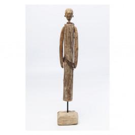 Dekorácia z mangového dreva Kare Design African Man