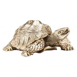 Dekoratívna soška v zlatej farbe Kare Design Turtle