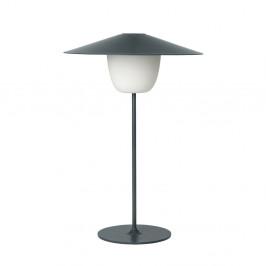 Tmavosivá stredná LED lampa Blomus Ani Lamp