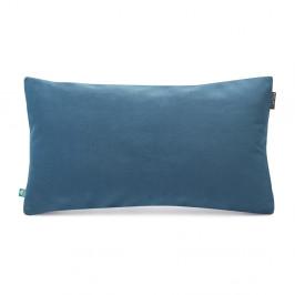 Modrá obliečka na vankúš so zamatovým povrchom Mumla Velvet, 30 x 50 cm