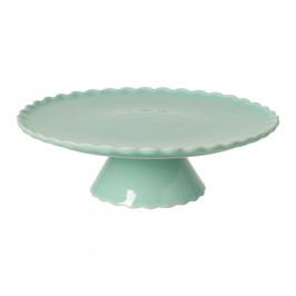 Svetlozelený kameninový podnos na tortu Casafina Forma, ⌀ 28 cm
